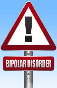 Bipolar Disorder Road Sign Illustration