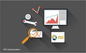 SEO Optimization Flat Illustration