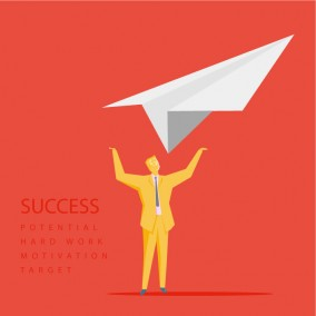 Business Success Illustration