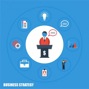 Business Strategy Illustration