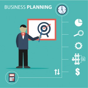 Business Planning Illustration