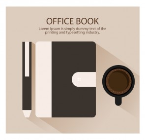 Browen Office Book Illustration
