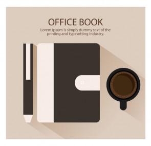 Browen Office Book Illustration