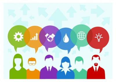 6 Elements Business People Concept Illustration