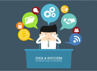 Idea & Success Business Illustration