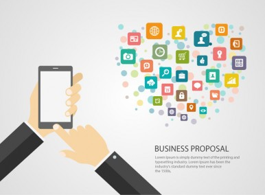 Business Proposal Illustration