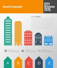 City Infographics Design Toolkit PSD