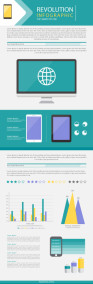 Free Digital Revolution Infographic Design