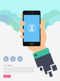 Free Smartphone Illustration Design