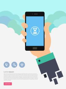 Free Smartphone Illustration Design
