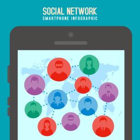 Smartphone Infographic Illustration