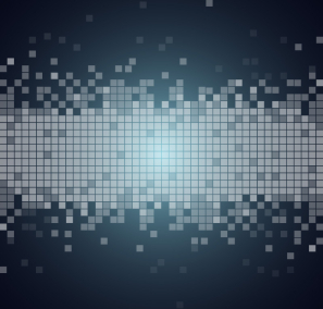 Free Technology Bit Pixels Background