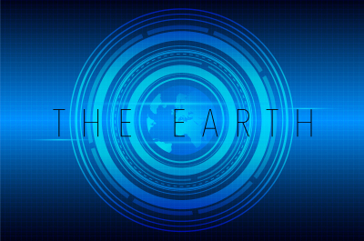 Free Earth Illustration Concept